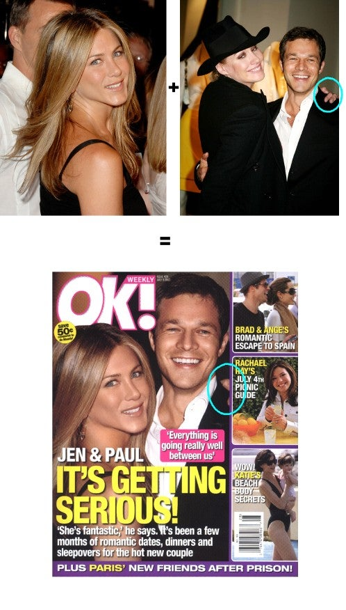 OK!'s Fake Cover Gives Jennifer Aniston Some Amy Sacco Hands