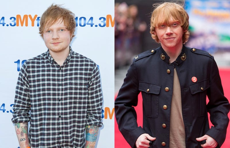Fans Think Rupert Grint Is Ed Sheeran, Because Maybe He Is?