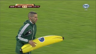 Racist Dutch Soccer Fans Throw Inflatable Banana At Black Player (Update)