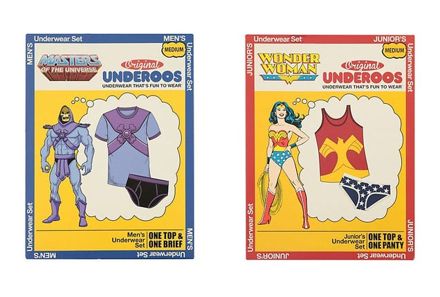 Holy @#$%! Underoos Are Back, Adult-Sized, And Better Than Ever!