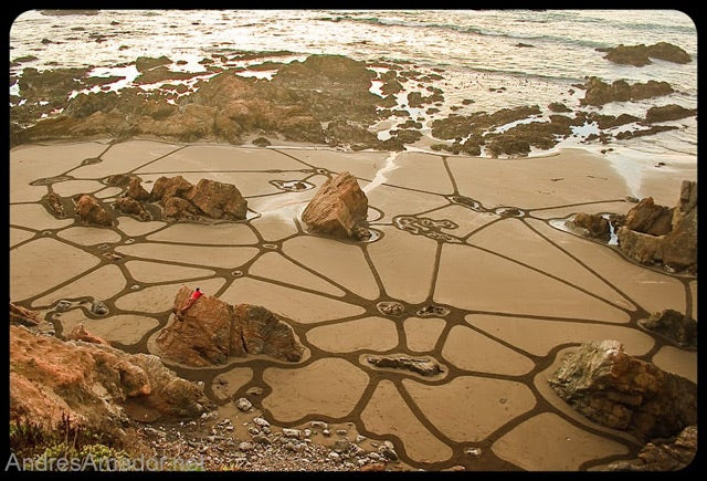Artist Treats San Francisco Beach Like an Enormous Etch-A-Sketch