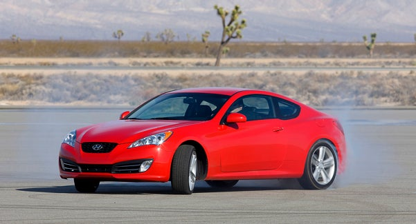 Even More 2010 Hyundai Genesis Coupe Press Photos Revealed