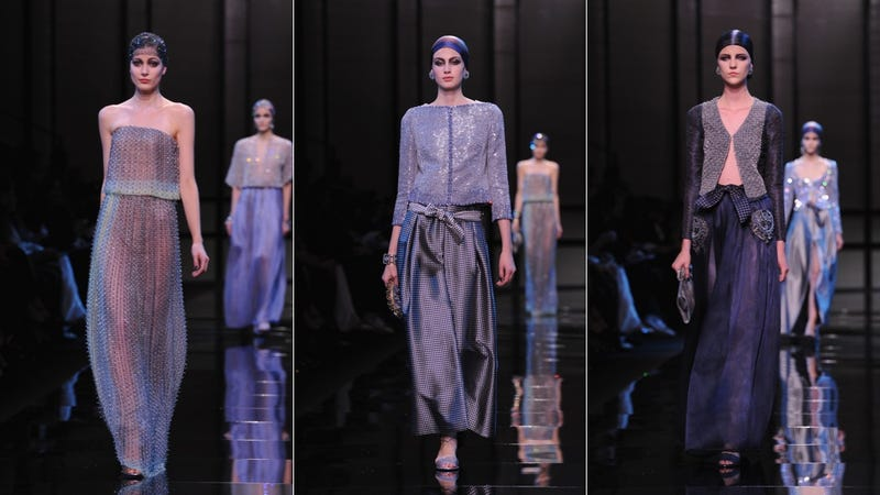 Armani Privé, for the Stoned Heiress Partying in Morocco in You