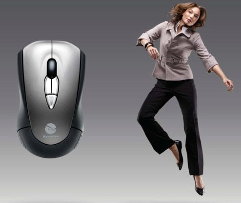 Gyration MotionSense Air Mouse Don't Need No Stinkin' Mousemat