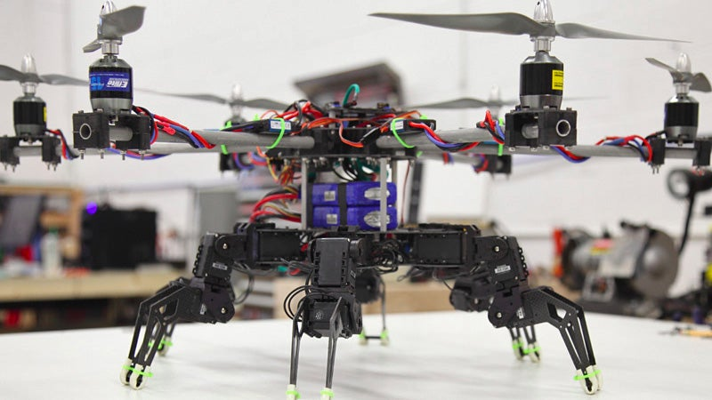 Merging Hexapod Bots and Flying Quadrotors Is Humanity's Biggest Mistake