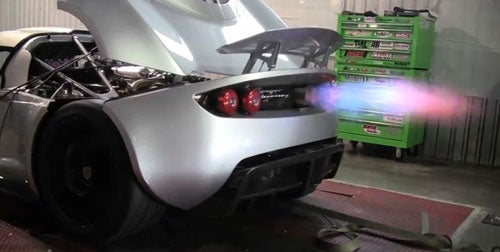 The Hennessey Venom GT Farts Fire