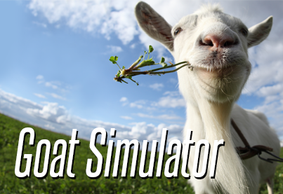 Goat Simulator. I'm interested?