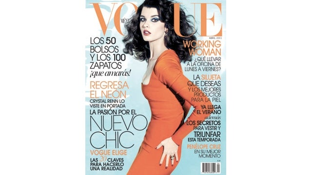 Crystal Renn Nabs Her First Vogue Cover