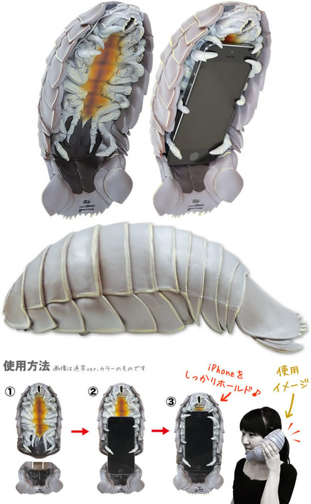 The Isopod Phone Case: For When You Want to Freak Out Everybody