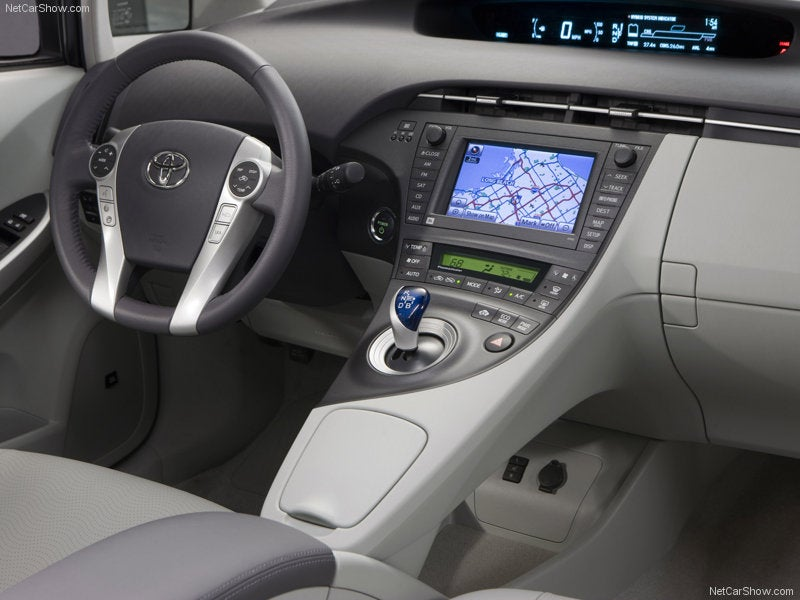 New Prius Hybrid Dashboard Photos