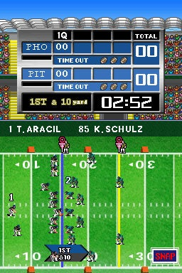 Tecmo Bowl Screens