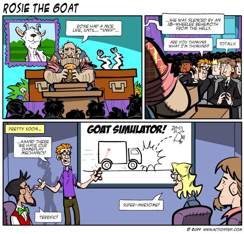 Sunday Comics: Dogmeat Was Killed.