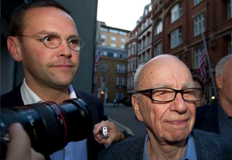 James Murdoch Done as Head of News International