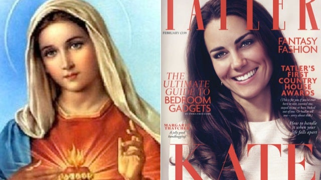 Kate Middleton Appears as Religious Icon on Mag Cover
