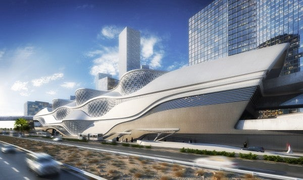 A Cruise Ship In The Desert? Zaha's Next Project