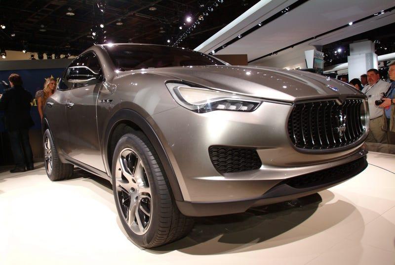 Maserati Kubang Concept Images