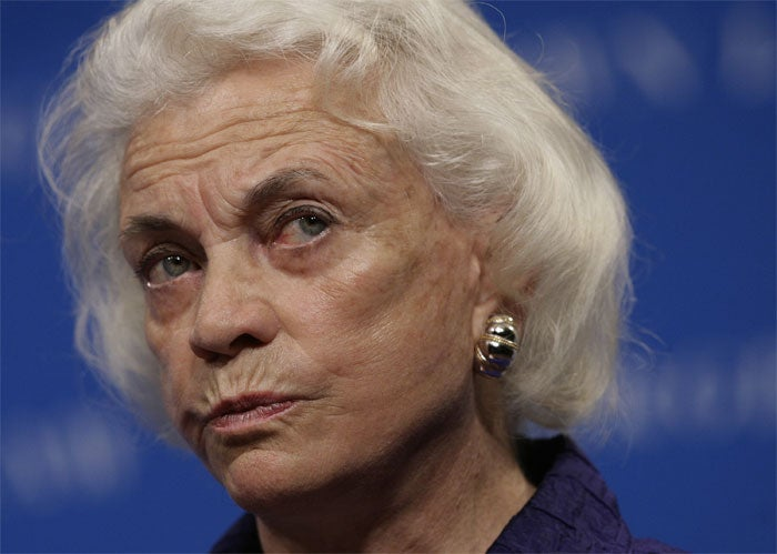 Sandra Day O'Connor Is Silently Judging You
