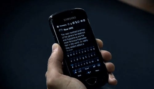 Samsung Sets New Guinness World Record For Fastest Texting Ever, In A Commercial