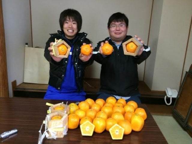 Forget Square Watermelons, Japan Now Has Pentagon-Shaped Oranges