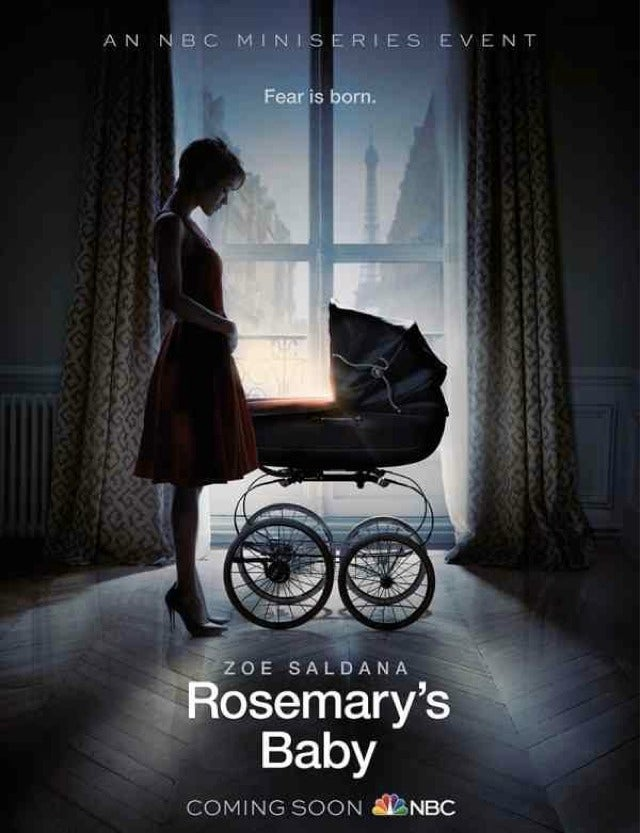 First Teaser For ​Rosemary's Baby Gives Zoe Saldana The Horror Haircut