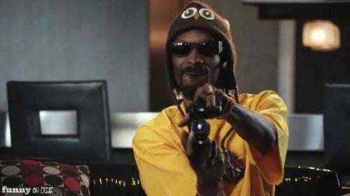Snoop Dogg, Chuck, LL Cool J Boom Dizzle in Best Halo: Reach Vid Ever