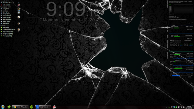 The Shattered Glass Desktop