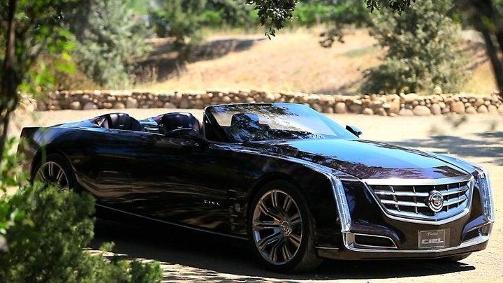 Cadillac Ciel is a convertible Sedan de Ville for the 21st Century