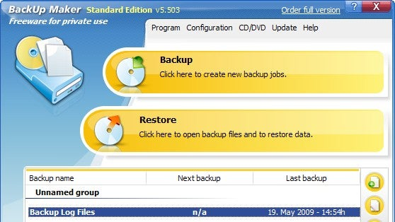 Backup Maker Offers Dead Simple Backup Creation