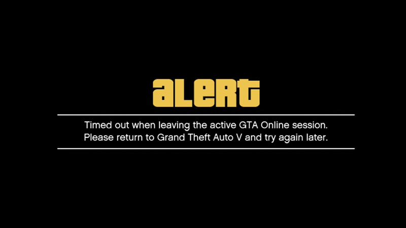 GTA Online Day Three: Still Not Really Working [UPDATE]