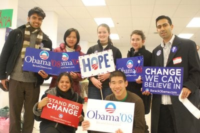 Obama Campaigners Will Work For Food, Status