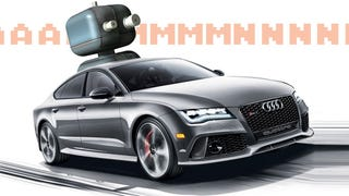 A Driverless Audi RS7 Will Do A Lap At A German Touring Car Race