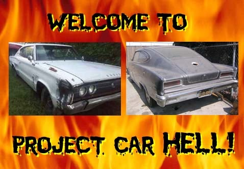 Project Car Hell, Fastback Edition: Charger or Marlin?