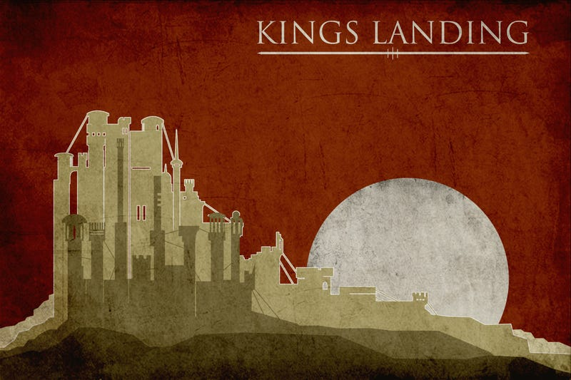 Awesome Game of Thrones Travel Posters for Your Next Trip to Westeros!