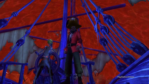 Avast! A Monkey Island Pirate Paradise For PlayStation Home