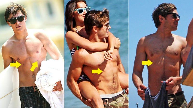 Does Zac Efron Have Four Nipples?