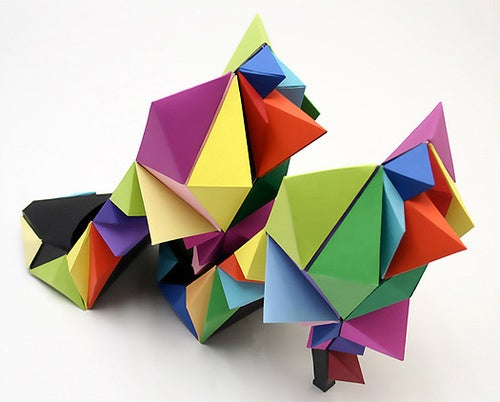 Funky Paper Shoes, Humping Paper Beasts, Or Both