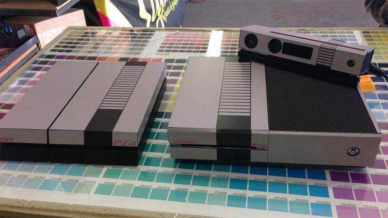 Dress Your Xbox One And PS4 Up Like Respectable Game Consoles