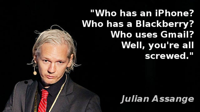 Julian Assange: You're All Screwed