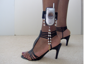 Cellphone Ankle Strap is Unbelievably Awesome