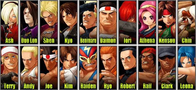 Here's Your King Of Fighters XII Roster