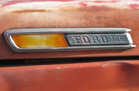 1971 Ford F-100 Pickup