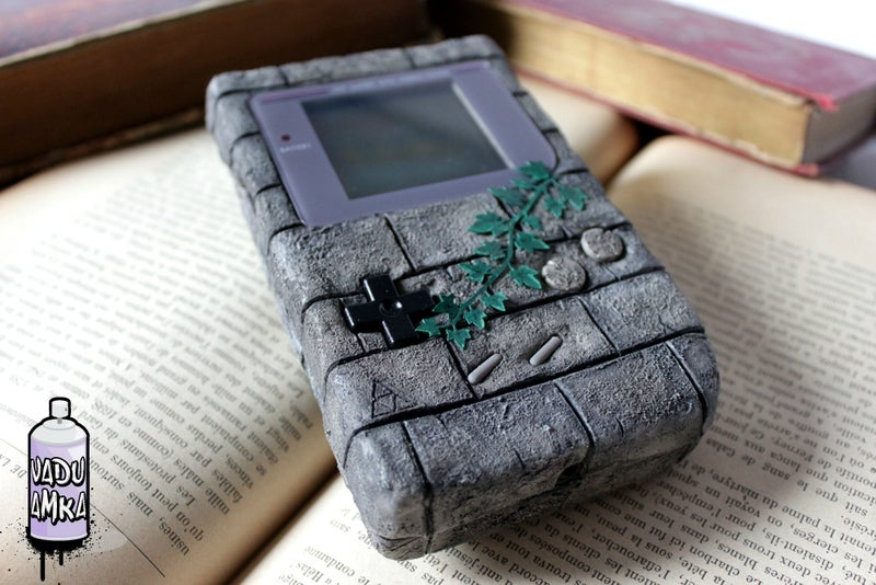 A Game Boy That Looks Like It Could Survive Ten Thousand Years