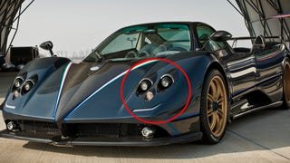 Did You Ever Notice The Real Face Of A Pagani Zonda?