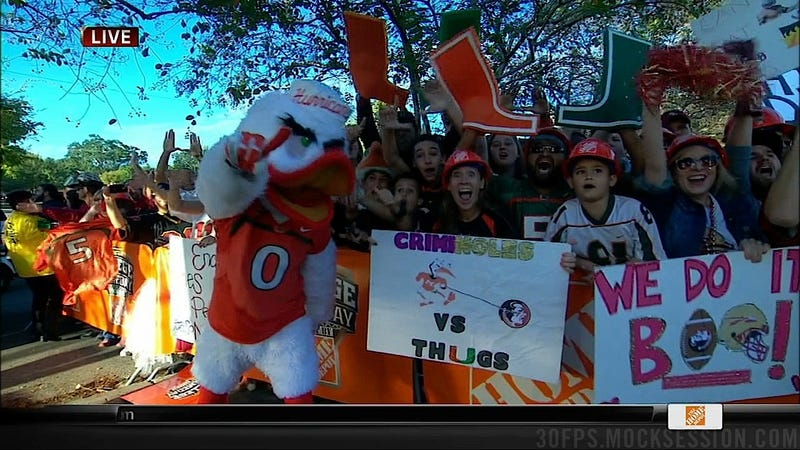 Nobody's Perfect: Your Miami-FSU GameDay Sign Roundup