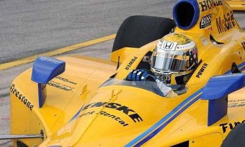 IndyCar's Power Breaks Vertebra During Sonoma Practice