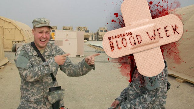 Blood Writes: Not All Military Injuries Are Combat-Related, And Some Can Be Laughed At Later