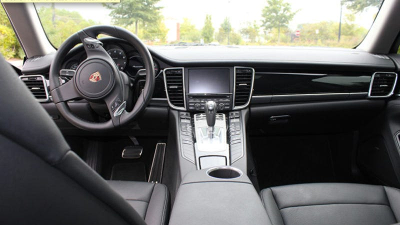 Shaq's Porsche Panamera Is For Sale, But It Has An Un-Shaq-Like V6