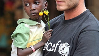 Are The Beckhams Adopting An African Kid?!?!