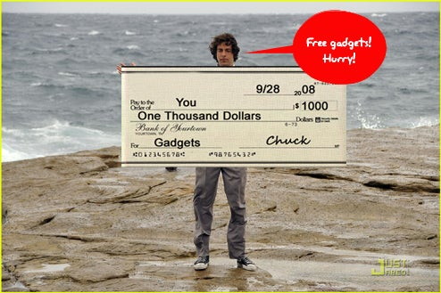 Contest Reminder: Win $1000 in Gadgets From NBCs 'Chuck'