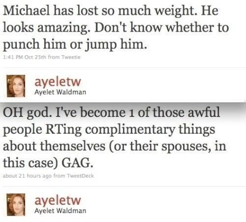 Ayelet Waldman Now Fantasizing on Twitter About Screwing Husband